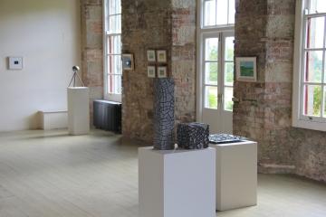 Michelle Byrne's stone sculpture